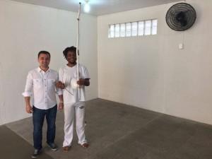 Aulas de Capoeira na FUNDAC