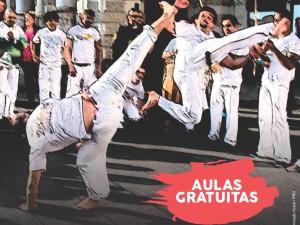 INSCRIÇÕES ABERTAS PARA AULAS DE CAPOEIRA