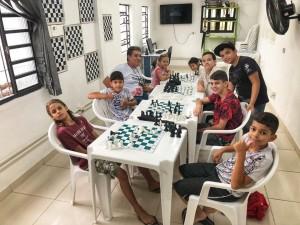 Oficina de Xadrez com Vagas Disponíveis para Turmas da Manhã